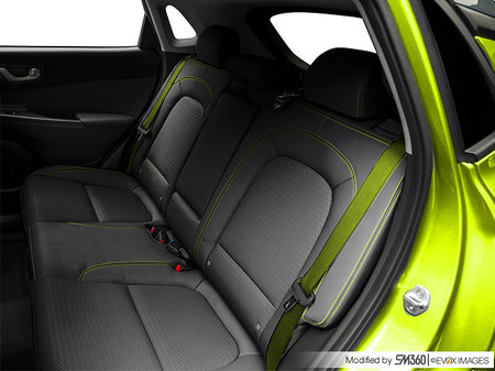 Hyundai Kona ULTIMATE Black with Lime Trim 2019 - photo 1