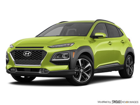 Hyundai Kona ULTIMATE Black with Lime Trim 2019 - photo 3