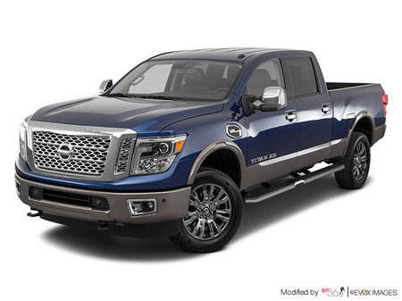Nissan Titan XD Gas PLATINUM 2019 - photo 2