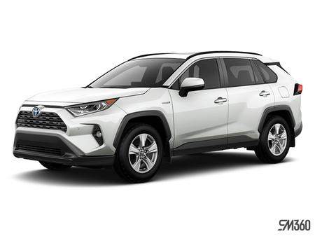 Toyota RAV4 Hybride XLE 2019 - photo 2