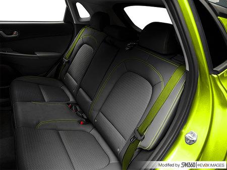 Hyundai Kona ULTIMATE Black with Lime Trim 2020 - photo 1