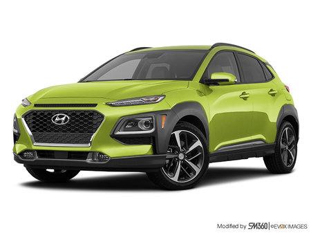 Hyundai Kona ULTIMATE Black with Lime Trim 2020 - photo 3