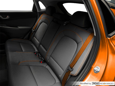 Hyundai Kona ULTIMATE Black with Orange Trim 2020 - photo 1