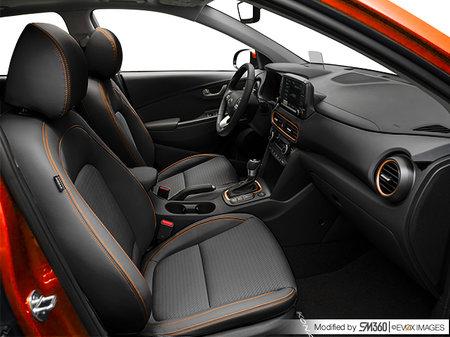 Hyundai Kona Ultimate Noir avec ensemble couleur orange 2020 - photo 2