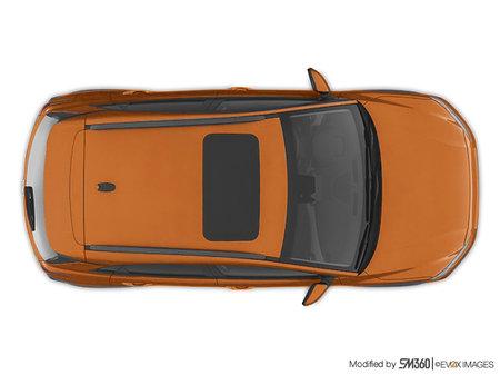 Hyundai Kona Ultimate Noir avec ensemble couleur orange 2020 - photo 4