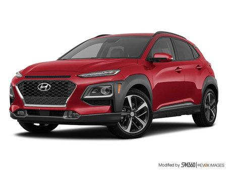 Hyundai Kona Ultimate Noir avec ensemble couleur rouge 2020 - photo 3