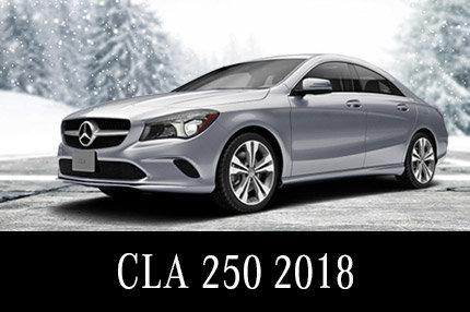 Solde de démos CLA 250 2018 : 369$/mois Location 45 mois