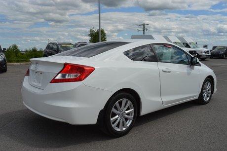 Honda Civic Cpe EX COUPÉ GR ÉLECTRIQUE BLUETOOTH A/C 2012