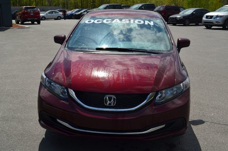 Honda Civic Sedan LX   25,456 KM ! CAMÉRA DE RECUL 2015