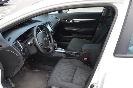 2015 Honda Civic Sedan EX A/C BLUETOOTH CAMERA RECUL COMMANDE VOCALE