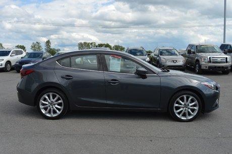 Mazda Mazda3 GT-SKY TECH CUIR NAVIGATION BOSE HEADS UP DISPLAY 2014