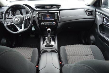 2018 Nissan Rogue S AWD BLUETOOTH A/C SIEGES CHAUFFANTS CAMERA RECUL