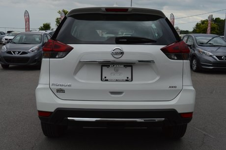 2018 Nissan Rogue S AWD BLUETOOTH A/C SIEGES CHAUFFANTS CAMERA RECUL