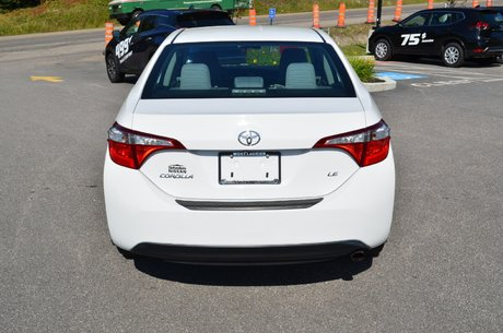 Toyota Corolla LE AUTOMATIQUE A/C SIEGES CHAUFFANTS CAMERA RECUL 2015