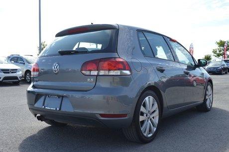 2013 Volkswagen Golf WOLFSBURG  AUTOMATIQUE TOIT OUVRANT  A/C BLUETOOTH