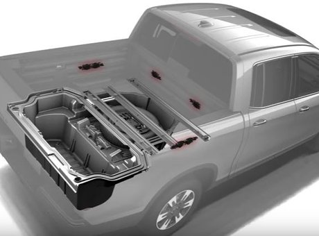 How to use the 2017 Honda Ridgeline Truck-Bed Audio System™