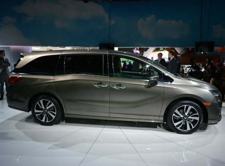 Five things to know about the new 2018 Honda Odyssey