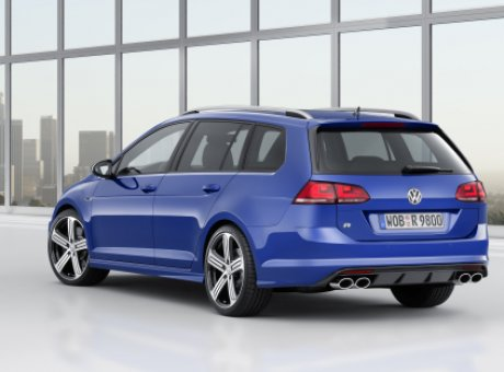 Volkswagen Golf R Variant Makes Its World Debut at the Los Angeles Auto Show
