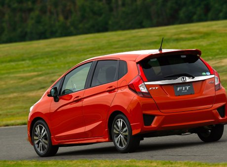 2015 Honda Fit: Fit what? Everything!