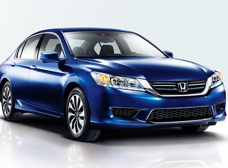 2015 Honda Accord Hybrid: two motors, one vision
