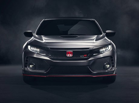 A New Honda Civic Type R Unveiled at the Paris Motor Show