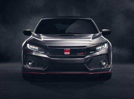 The rumor was true: Honda introduces the Civic Type R in Paris