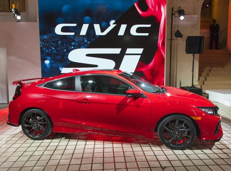 Here's the all-new Honda Civic Si