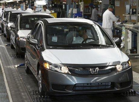 Honda produit son vingt millionième véhicule en Amérique du Nord