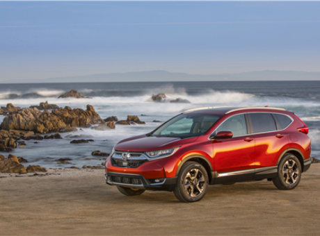 Honda further improves the 2017 Honda CR-V