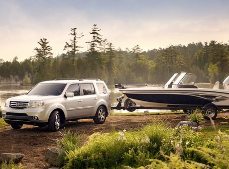 2014 Honda Pilot – With an emphasis on comfort and space