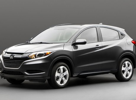 The all-new 2015 Honda HR-V
