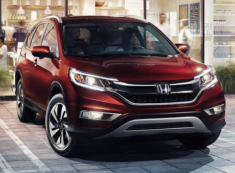 2015 Honda CR-V - Lots of new for Honda's small crossover SUV