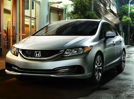 2015 Honda Civic: still the best selling in Canada