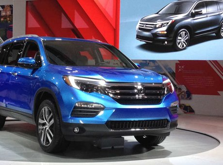 2016 Honda Pilot: completely redesigned and offering even more
