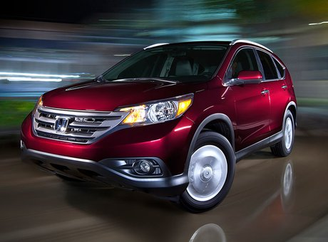 Honda CR- V 2014 - Your ally for winter