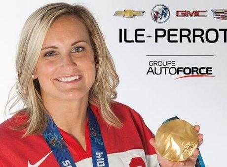 Marie-Philip Poulin devient partenaire de Cadillac Chevrolet Buick GMC de l'Île Perrot!