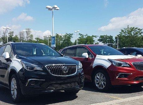 Le Buick Envision 2016 est arrivé!