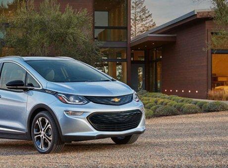 La Chevrolet Bolt EV nommée la voiture nord-américaine de l'année!