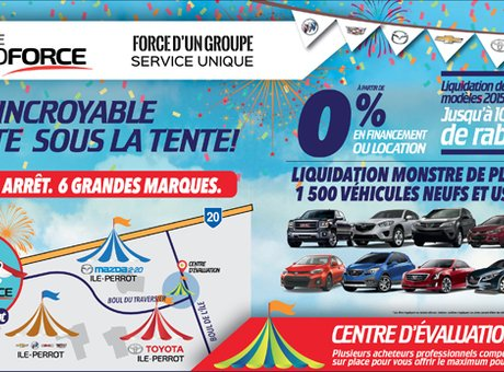 Le Festi AutoForce, votre rendez-vous autos neuves et d'occasion!