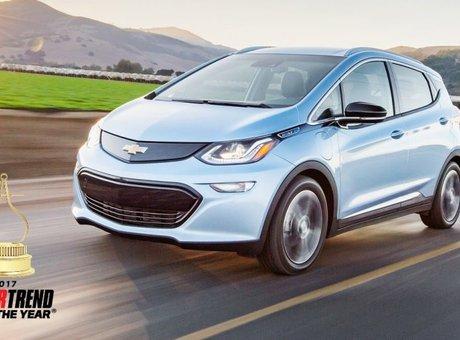 Chevrolet Bolt EV2017, l'auto de l'année selon Motor Trend