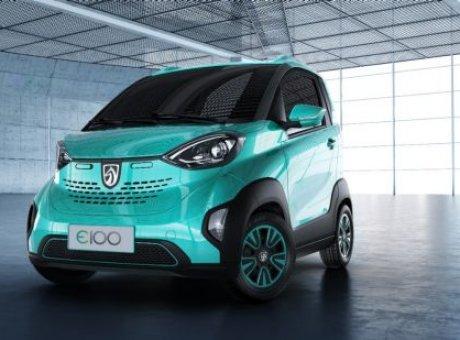 La BaojunE100, une voiture électrique à 6 700$, les Chinois vont respirer mieux!