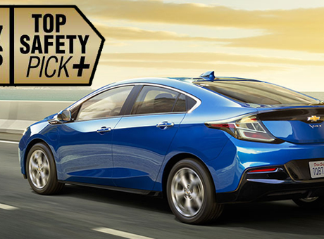 La Chevrolet Volt 2017, en tête de liste en termes de sécurité!