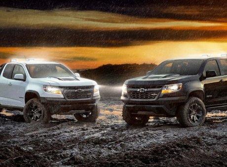 Nouvelles versions des ZR2 éditions Minuit et Crépuscule de la gamme de Chevrolet Colorado 2018