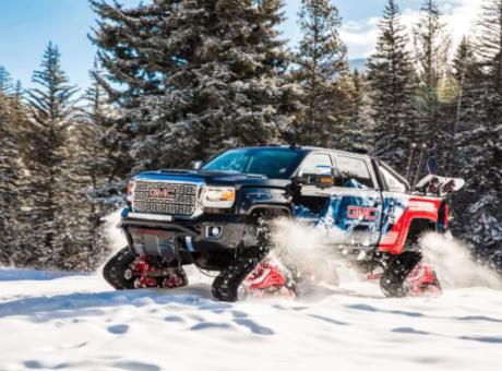 Avec le nouveau GMC SierraHD all Mountain2018, on a tous hâte à l'hiver!