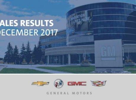 GM est nº 1 des ventes au détail au Canada pour 2017