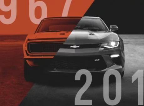 L'évolution de la Chevrolet Camaro, plus de 50 ans d'histoire