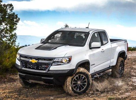 Le Chevrolet Colorado ZR2 2018, le parfait tout-terrain!