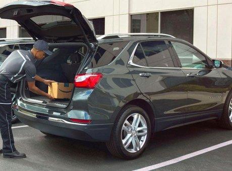 Faites livrer vos colis directement dans le coffre de votre voiture avec GM et Amazon