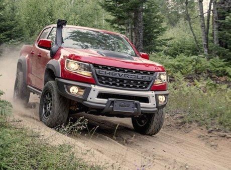 Chevrolet propose un Colorado encore plus radical: le ZR2 Bison