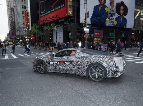 Moins d'un mois avant la nouvelle génération de Corvette
